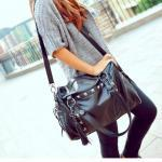 [grhmf2200012]New Style Rivets Tassel Handbag Shoulder Bag