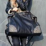 [grhmf2200011]Fashion Diamond Rivets Shoulder Messenger Handbag