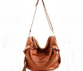 [ grdx02150]New Tassel Leather Handbag Cross Body Shoulder Bag &handbag