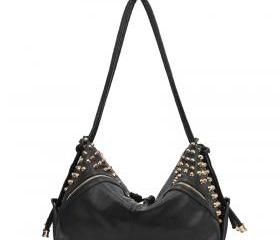 [grhmf2200010]European and American Stars Retro Rivet Shoulder Bag