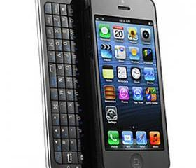 [grdx0031A]Black SLIDE OUT bluetooth Keyboard Wireless for iPhone 4/4s
