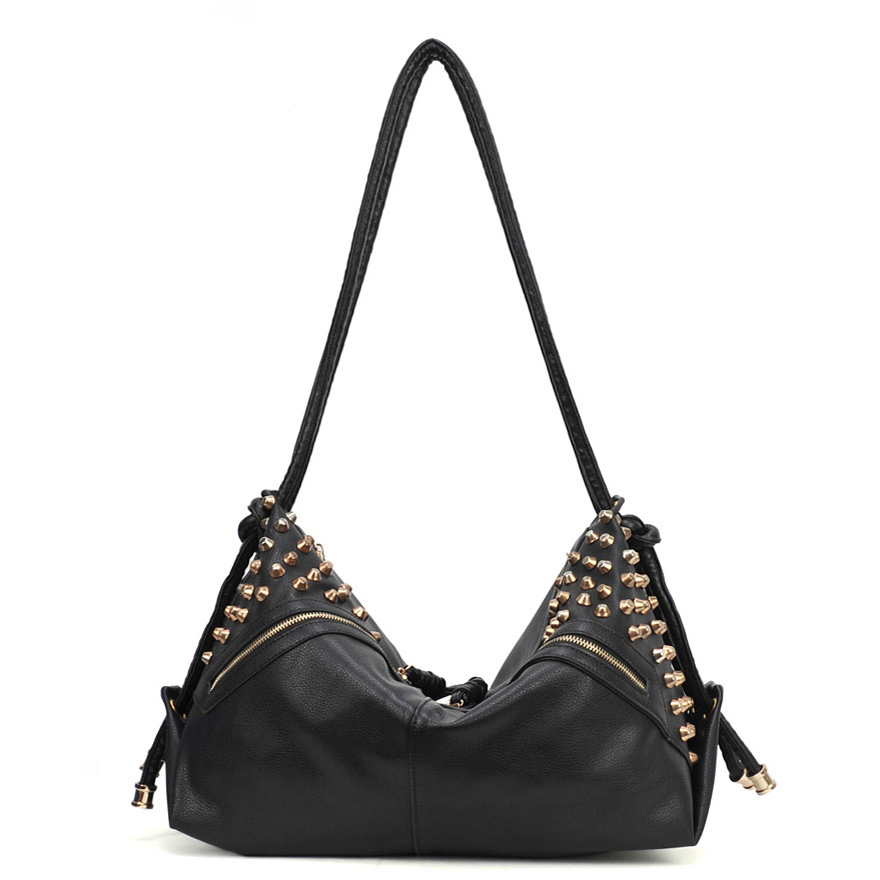 Stars Retro Rivet Shoulder Bag 29